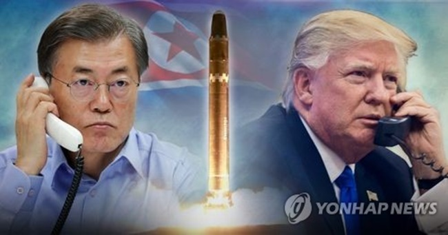 S. Korea, U.S. Not Considering Any Military Measures Against N. Korea: Cheong Wa Dae