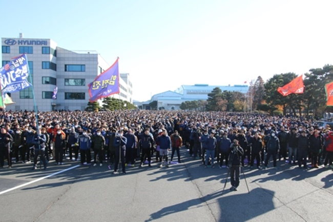 Hyundai Workers to Continue Strikes Next Week