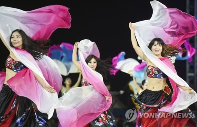 Wonju is hoping to become a city of dancing by hosting a number of festivals including the University Cheerleading Championship in 2020. (Image: Yonhap)