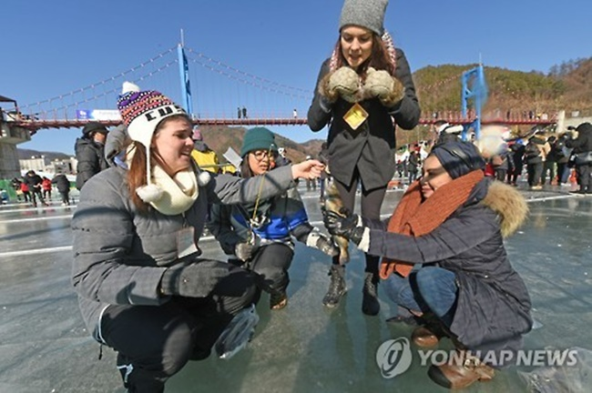 Though a duty-free shop was built in the region in 2011, it's the first time that the venue hosting the annual festival will welcome foreign tourists with a duty-free store. (Image: Yonhap)