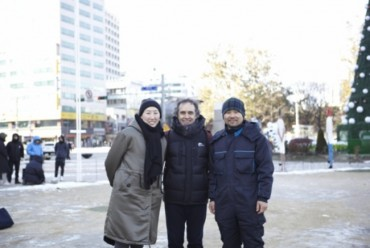 Statue Erected at Seoul Plaza Commemorating International Migrants Day