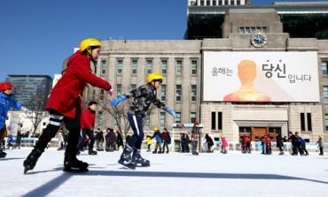 Seoul Plaza Ice Skating Rink Opens Friday