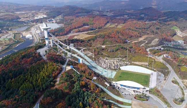 The Gangwon provincial government announced the four-point plan dubbed Gangwon Vision 2040 at a meeting on Friday, as the province is poised to raise quality of life and reach a gross regional domestic product of over 3 percent of the nation's total by the end of 2040. (Image: Yonhap)