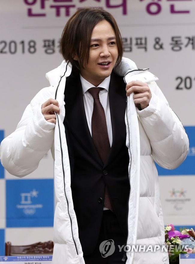 Actor and singer Jang Keun-suk has been chosen as an honorary ambassador for the PyeongChang 2018 Winter Olympics. (Image: Yonhap)