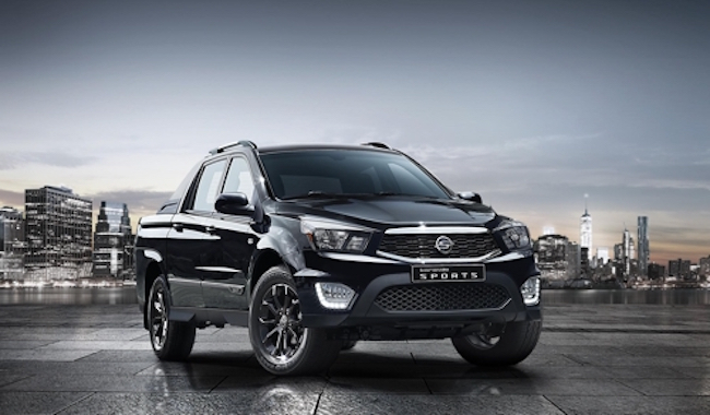 SsangYong Motor plans to ship 2,400 units of models such as the Korando Sport sport-utility vehicle and the Korando Turismo van to Sudan from February through 2019, the company said in a statement. (Image: Yonhap)