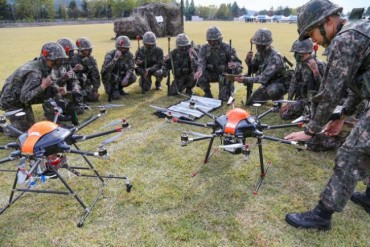 South Korean Military to Launch Drone Bot Combat Unit