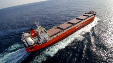 South Korea's First LNG-powered Merchant Vessel Unveiled