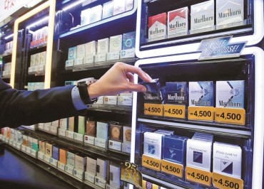 Lotte's Hypermarket Chain to Stop Selling Cigarettes from Next Year