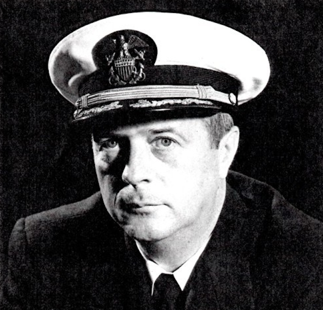 South Korea's Navy said Thursday it will unveil a bust of a late U.S. commander in memory of his contributions to the growth of the country's naval forces during his wartime service here six decades ago. (Image: Yonhap)