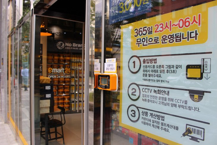 S. Korean Retailers Rev up Push to Expand Cashierless Stores