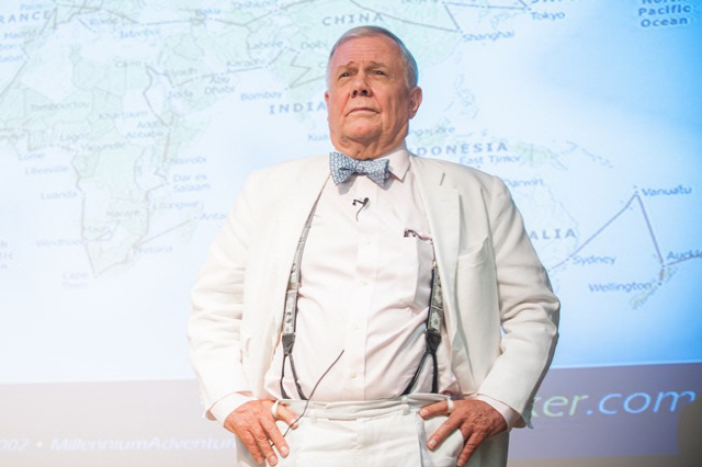 Jim Rogers, chairman of Rogers Holdings and Beeland Interests. (image: Jim Rogers)