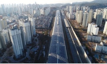S. Korean Soundproof Tunnel to Double as Solar Power Generator