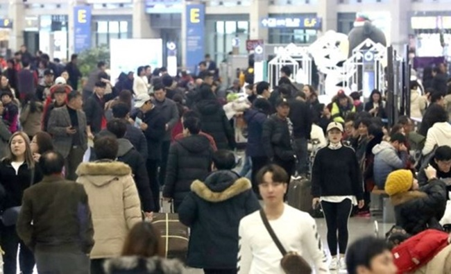 The tourists were supposed to leave for South Korea on Friday in a trip arranged by Haitao Travel, a Chinese tour operator, according to the sources. (Image: Yonhap)
