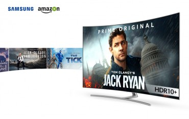 Samsung, Amazon to Start Streaming Premium Video Content