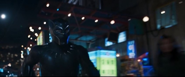 The love affair between movie lovers and superheroes is just as strong in South Korea as anywhere else, which is why the trailer for the upcoming Black Panther movie, specifically the part where the suited up Chadwick Boseman is on the streets of Busan, has set Marvel fans hearts' a flutter. (Image: Walt Disney Company Korea)