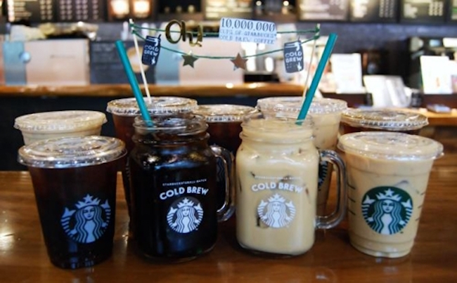 Starbucks cold brew is believed to be a crucial category where the company can flex its innovative muscle. (Image: Starbucks Korea)