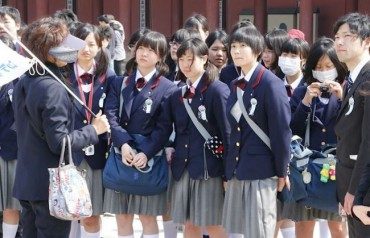 Japanese School Trips to South Korea Drop Drastically