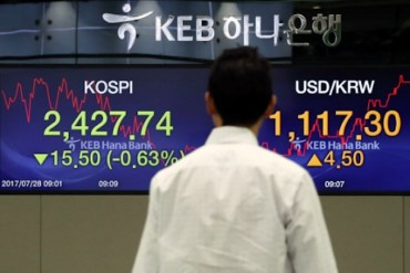 Foreigners Pick Up Financial Shares, Drop Electronics in 2017
