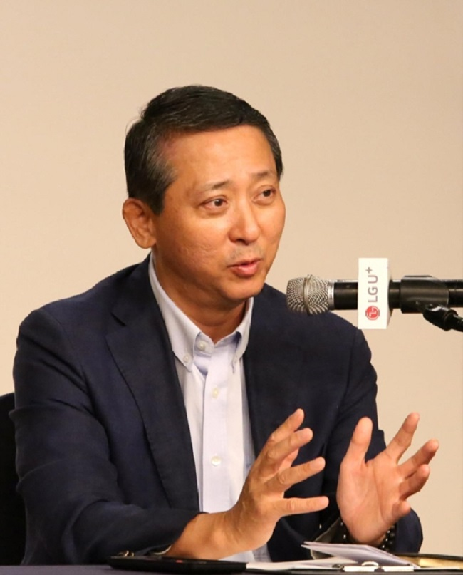 Kwon emphasized that his five-point plan would create a company culture that would serve to elevate LG Uplus to new heights. (Image: Yonhap)