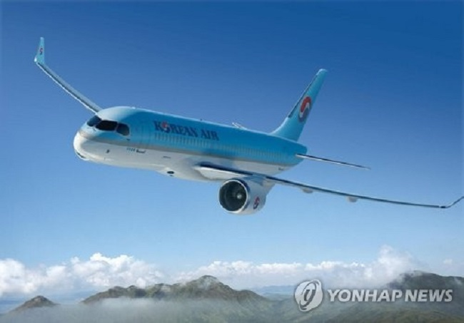 South Korea's flagship carrier will fly two fuel-efficient 127-seat CS300s, manufactured by Canadian aircraft company Bombardier, on domestic routes linking Seoul to Ulsan, Pohang, Yeosu and Sacheon from Jan. 16. (Image: Yonhap)