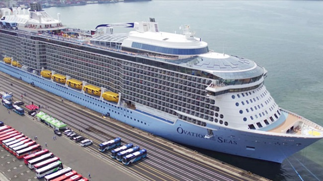 "A ""color of the year"" cruise party will leave Busan for Tokyo on April 18 for a four-day voyage, the first such event to be held in South Korea. (Image: Yonhap)"