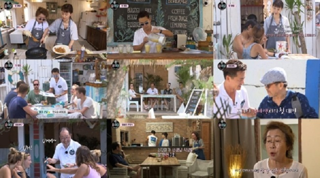 """Kang's Kitchen"" and ""Youn's Kitchen 2,"" both on cable channel tvN, garnered scores of 257.7 and 243.0, respectively, on the Content Power Index (CPI) for Jan. 1-7. (Image: Yonhap)"