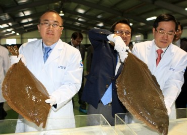 "S. Korean ""King Flounder"" Aquafarming Heats Up"
