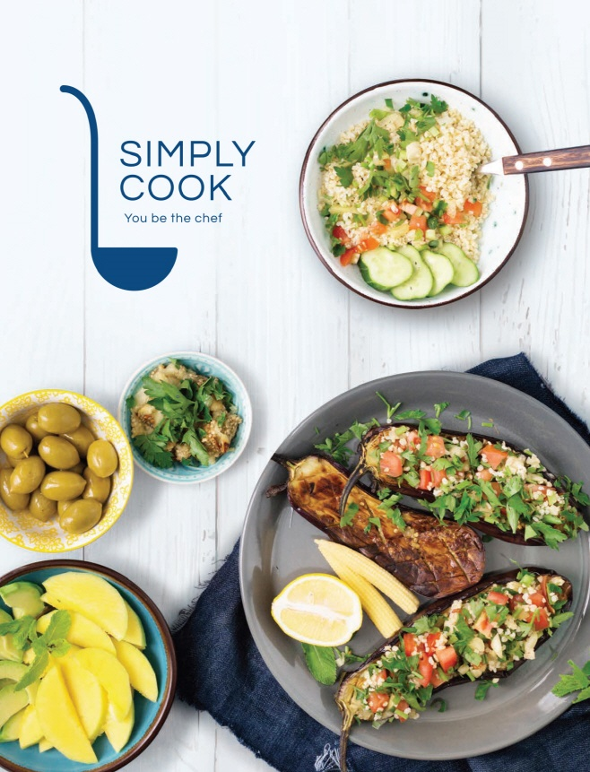 GS Retail began its meal kit delivery service 'Simply Cook' last December, while SK Planet acquired meal kit start up Hello Nature last year. (Image: GS Retail)