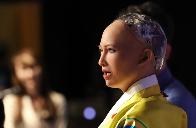 AI Robot Sophia Wows South Korean Audience