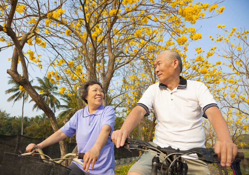 Elderly Couples Who Live Together Show Similar Patterns in Decrepitude and Weight Loss