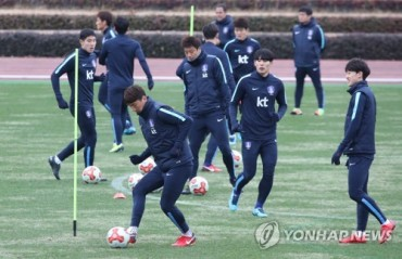 S. Korea Men's Football Team to Train in Turkey for 2018 World Cup Prep