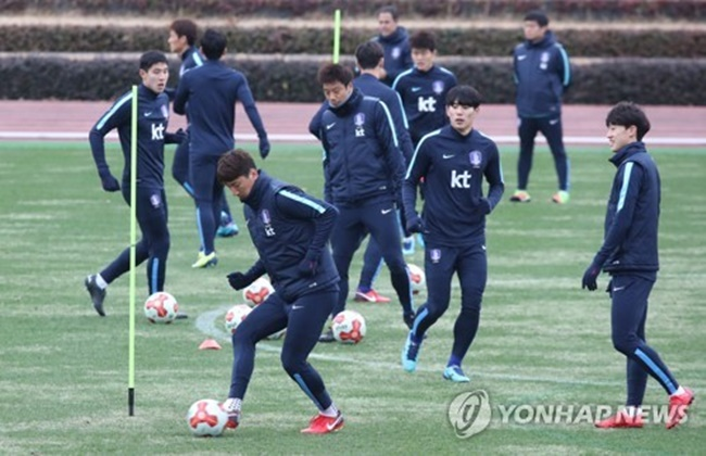 The Korea Football Association (KFA) said the men's national football team will train in Antalya, Turkey, from Jan. 22 to Feb. 4. (Image: Yonhap)