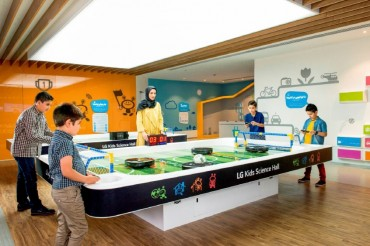 LG Opens Kids Science Hall in Iran