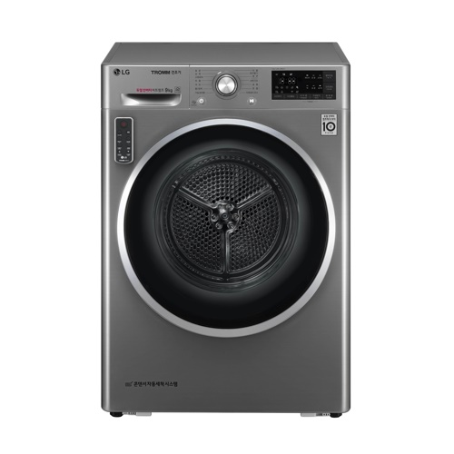 LG Electronics Inc. said Tuesday its latest energy-efficient dryer has gained popularity in South Korea in recent weeks. (Image: LG)