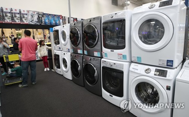 Dan Song, president of LG Electronics' home appliance & air solution division, said there is no chance of dumping by South Korean companies, as the U.S. has been cracking down on any dumping by South Korean firms. (Image: Yonhap)