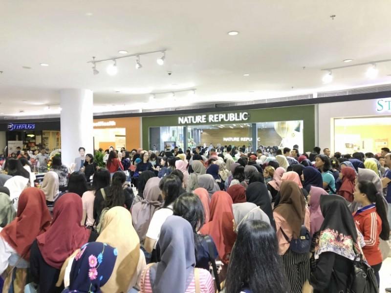 S. Korean Cosmetics Firm Nature Republic Opens in Indonesia
