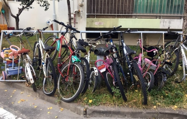 Abandoned Bikes a Growing Problem in Seoul