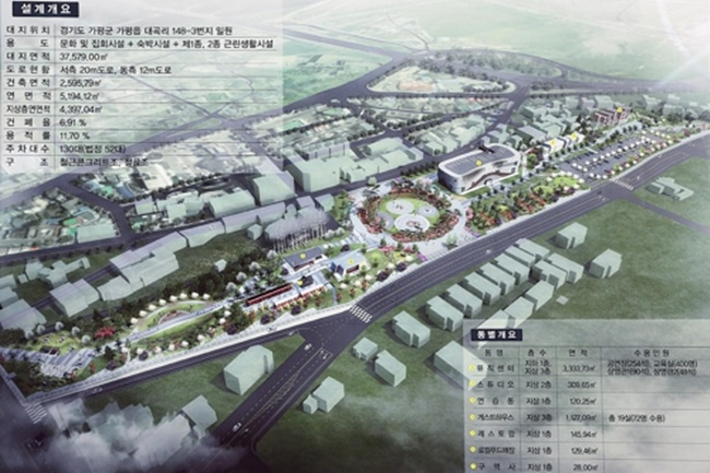 'Music City' Project in Gapyeong to Host Studio Spaces and Concerts