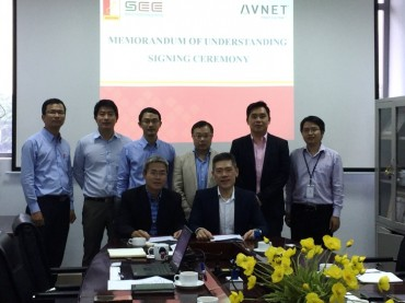 Avnet Signs MOU with the Hanoi University of Science and Technology to Launch IoT Masterclass Series for Engineering Students