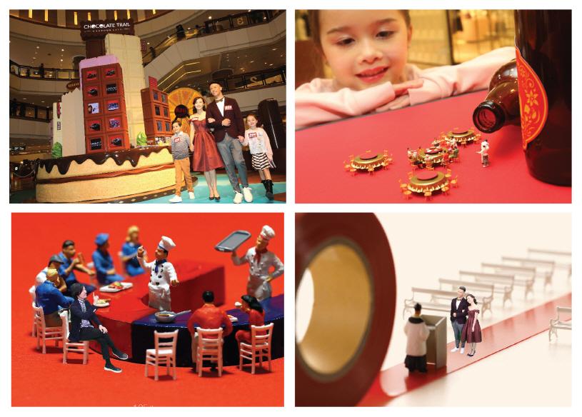 """mini CHOCOllection"" Miniature Exhibition & photo studio. (image: Harbour City)"