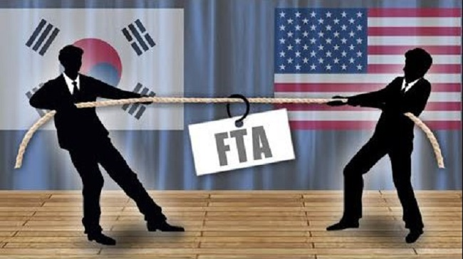South Korea and the United States plan to hold the second round of talks to amend their free trade pact in Seoul next week, Seoul's trade ministry said Friday, amid mounting U.S. trade pressure. (Image: Yonhap)