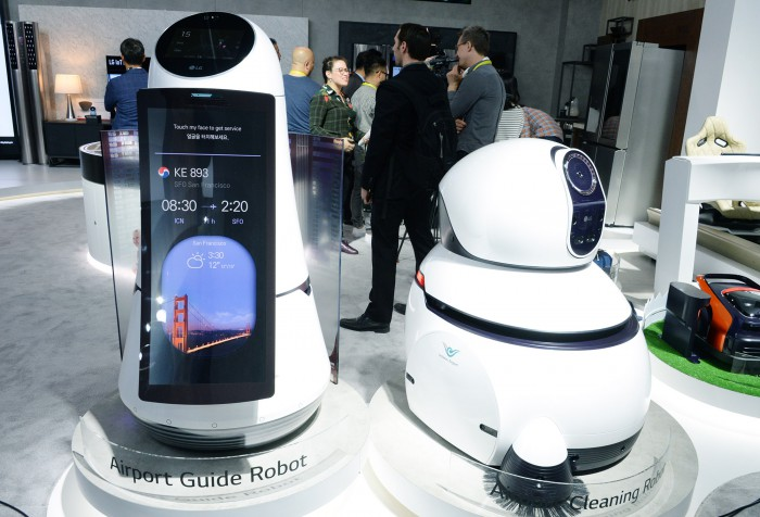LG Electronics Invests in Local Robot Maker