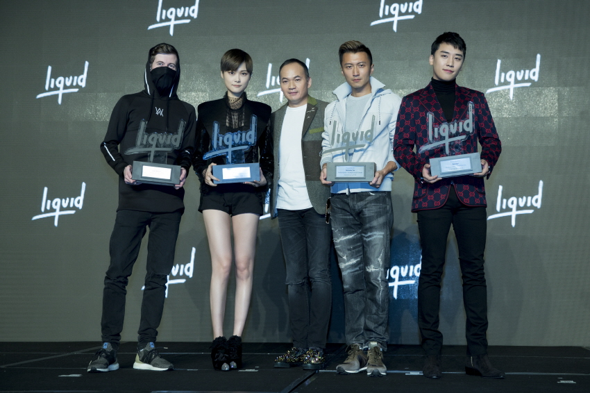 Liquid State ambassadors and Alan Walker collaborator (image: Liquid State)
