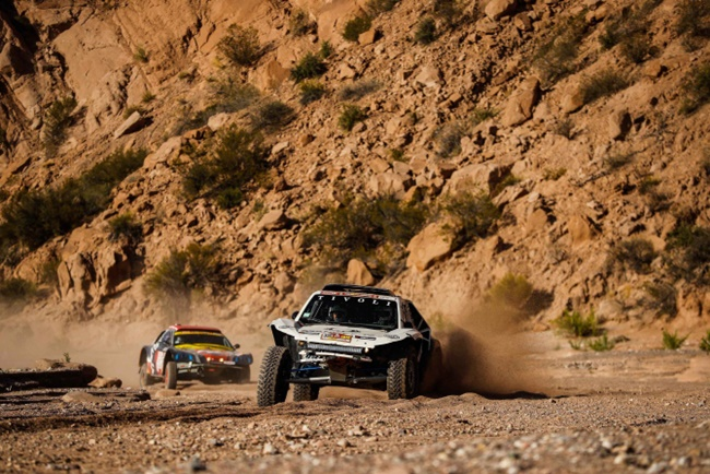 SsangYong Motor's Tivoli DKR has successfully completed the notorious Dakar Rally, the manufacturer said on Tuesday. (Image: SsangYong Motor)