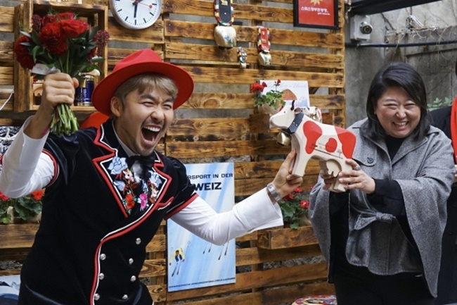 The number of South Korean tourists visiting Switzerland has soared over the last few years, following a promotional campaign featuring K-pop stars. (Image: Switzerland Tourism)