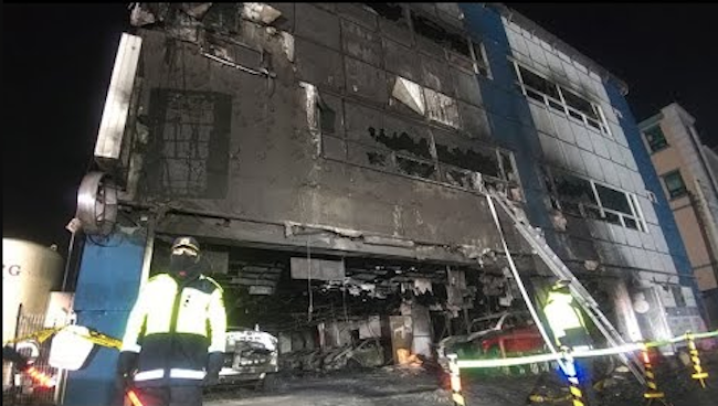 The fire proved to be deadly, resulting in 29 casualties and 29 injured. (Image: Yonhap)