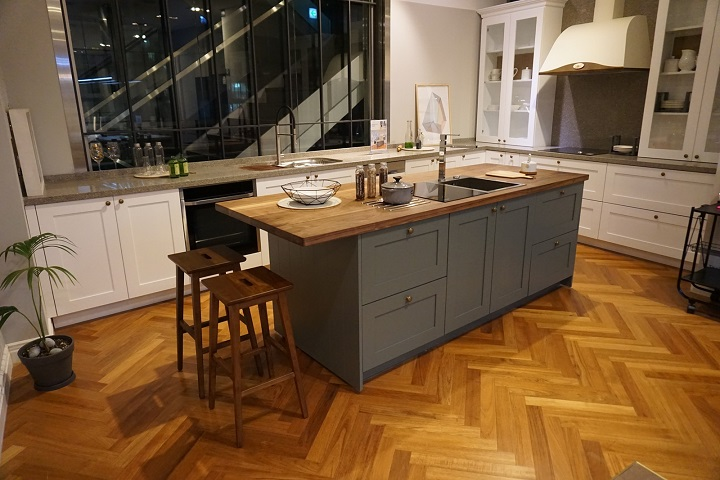 A show room for Casamia's kitchen interior brand C_LAB Kitchen. (image: Casamia Co.)