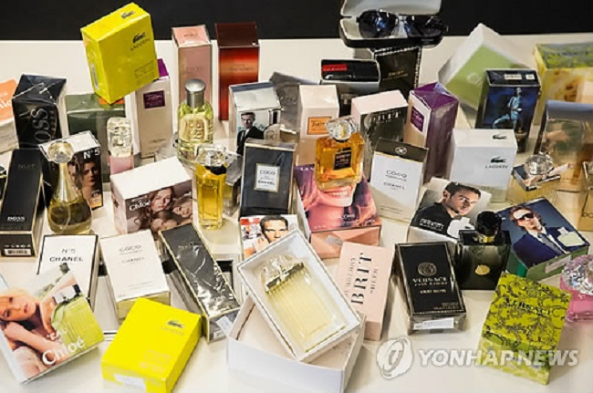 According to industry watchers, sales of niche perfumes at Hyundai Department Stores have made large strides since 2015, increasing by 20.1 percent, 19.1 percent and 28.6 percent per year since then. (Image: Yonhap)