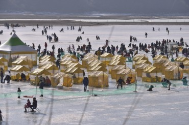 Inje Ice Fishing Fest Successful