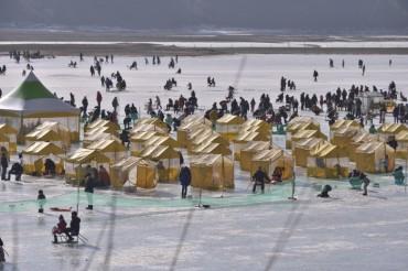 Inje Ice Fishing Fest Successful